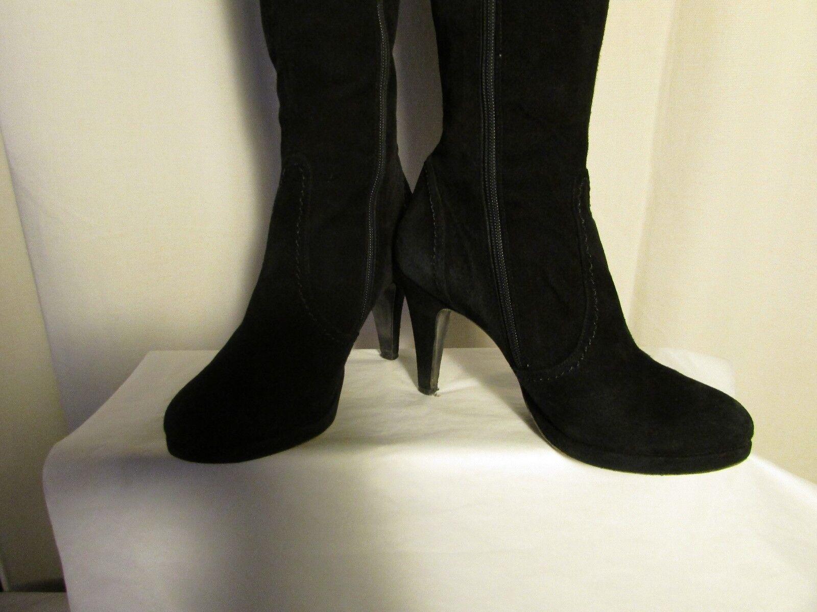 homme / daim femme de bottes en daim / noir kate kuba 39 facile à nettoyer la surface première qualité divers 1e105f