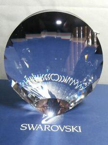 SWAROVSKI-SILVER-CRYSTAL-SHELL-VASE-2005-NOW-RETIRED-719220-MINT-IN-BOX
