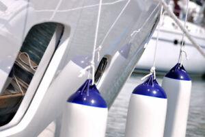 Kit 4 parabordi boa parabordo nautico ormeggio gonfiabile