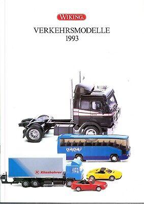 1993 Prospetto Wiking Trasporti Modelli 1:87 - Modello Di Auto-catalogo-e 1:87 - Modellauto-katalog It-it Mostra Il Titolo Originale Curare La Tosse E Facilitare L'Espettorazione E Alleviare La Raucedine