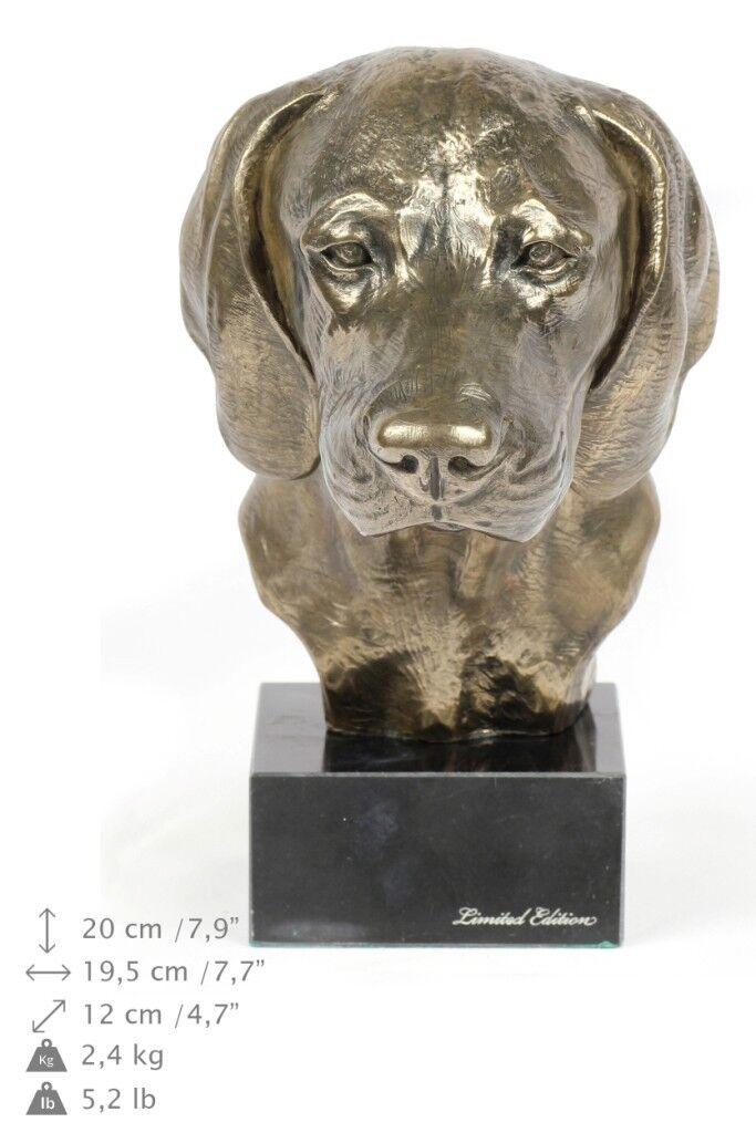 Bayerischer Gebirgsschweisshund - statua di cane, edizione limitata Art Dog IT