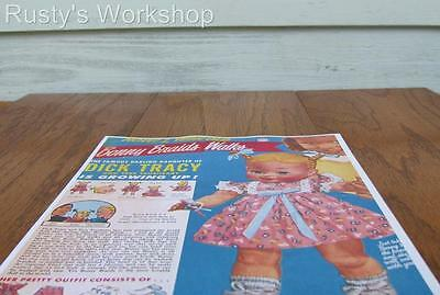 1950/'s Ideal HARRIET HUBBARD AYER Doll Color Brochure //Leaflet Reproduction