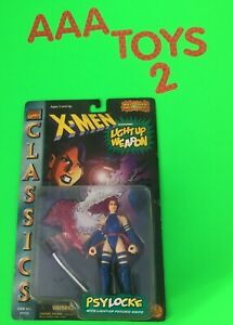 X-Men-Classics-PSYLOCKE-w-Light-up-Weapon-Marvel-Comics-Action-Figure-MOC