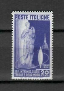 s21575-ITALIA-1951-MNH-Nuovi-Arte-Tessile-1v