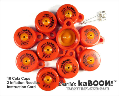 When you just wanna have FUN — Charlie's kaBOOM Cola 10-Pack Target Bottle Cap