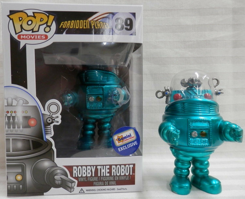 Funko Pop Vinilo Robby The Robot 2013 Gemini (en Caja Projoectora Funko PERSPEX)