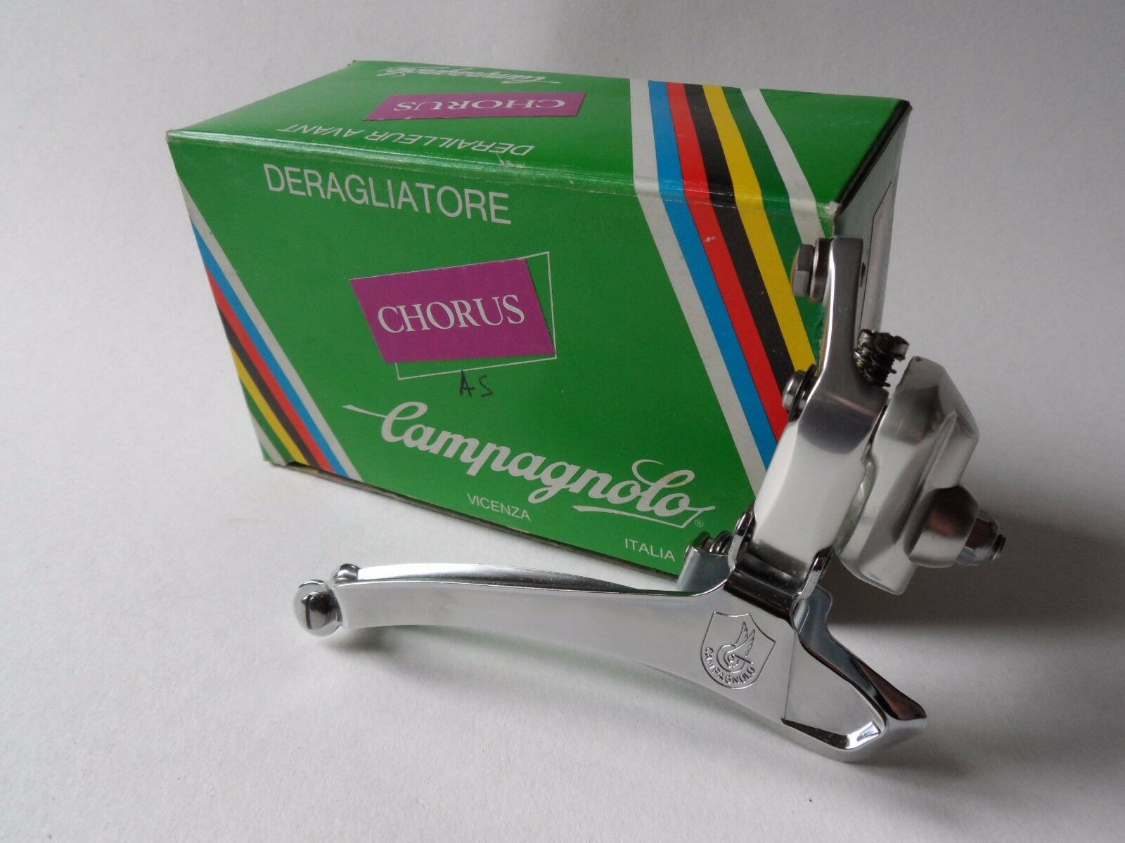 NOS Vintage 1980s Campagnolo Chorus (C Record  era) front braze-on derailleur  best offer