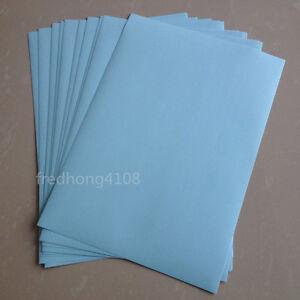 20 Sheet Light Blue A4 Matte Self Adhesive Label Sticker