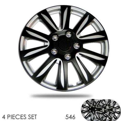 For Honda New 16 inch Hubcaps Silver Rim Wheel Covers Hub Cap Full Lug Skin 546