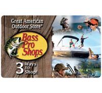 $50 Bass Gift Card & Get a Bonus $10 eBay Code