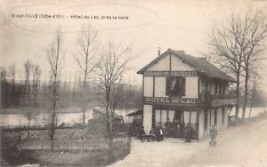 CPA-IS-sur-TILLE-Hotel-du-Lac-pres-la-Gare-Cote-d-039-Or