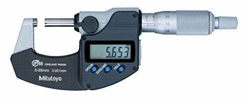 Mitutoyo 293-230-30 Digimatic Micrometer, 0-25 mm, SPC Output