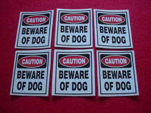 BEWARE OF DOG SIGN HOME SECURITY WARNING DECAL STICKERS for WINDOWS