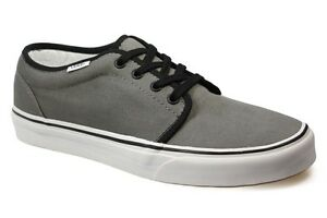 fb522f2dd7d574 Image is loading Vans-106-Vulcanized-Pewter-Black-All-Sizes-Available-