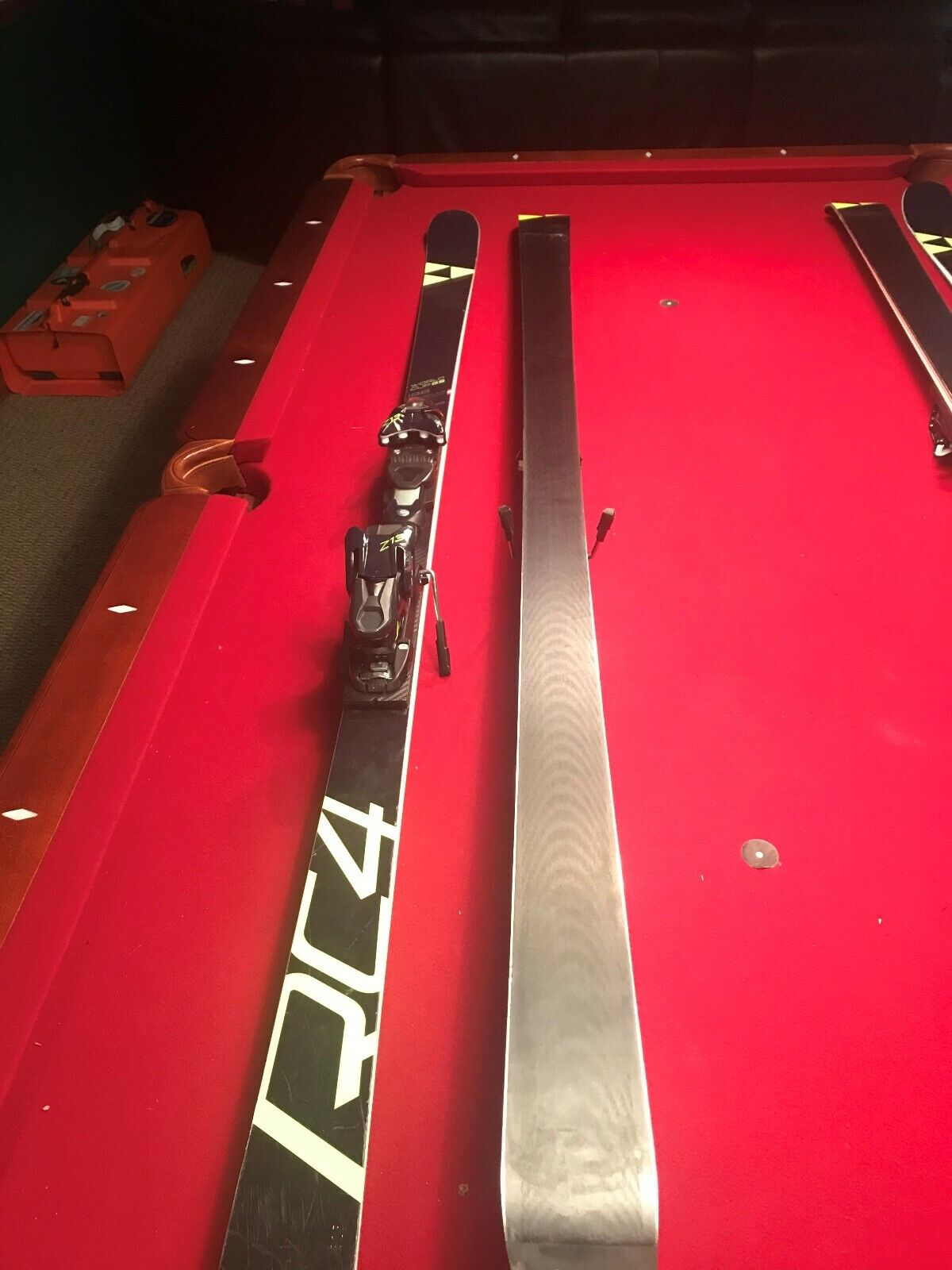 Fischer RC4 188 GS Skis with bindings. Used  for one season.  shop online today