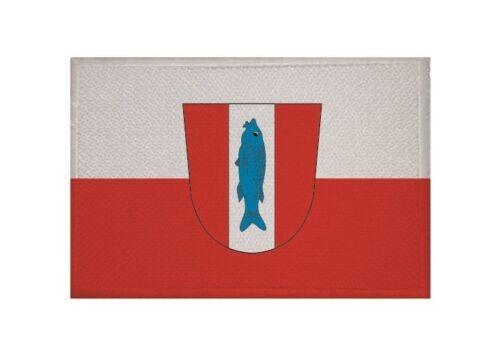 Ricamate Kaiserslautern bandiera bandiera aufbügler Patch 9 x 6 cm