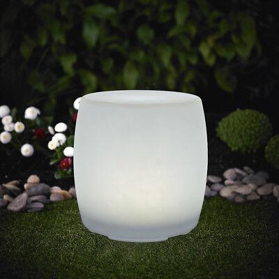 4 Stück XL LED Solarleuchte Trommel Leuchte 30x38cm Farbwechsel RGB LK08 Garten