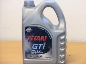 6-61-l-Fuchs-Titan-GT1-Pro-C3-5W-30-4-L-MB229-51-VW50400-50700-BMW-LL-04