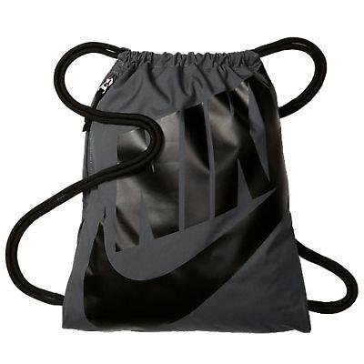 Konstruktiv Nike Kinder Sportbeutel Gymbag Nike Heritage Gymsack Dark Grey Angemessener Preis Jungen-accessoires Sport
