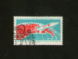 POSTAGE STAMP  DEUTSCHE DEMOKRATISCHE REPUBLIK  GAGARIN 12 4 1961  10  CCCP - West Yorkshire, United Kingdom - POSTAGE STAMP  DEUTSCHE DEMOKRATISCHE REPUBLIK  GAGARIN 12 4 1961  10  CCCP - West Yorkshire, United Kingdom