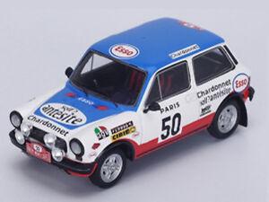 Spark-Model-1-43-S1338-AUTOBIANCHI-A112-Abarth-50-Rallye-Monte-Carlo-1976-NEW