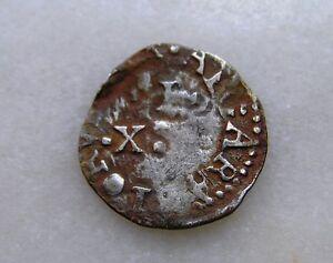 Portugal-Silver-Coin-XX-reis-vinten-D-Joao-lV-1640-56-Rare-Coin