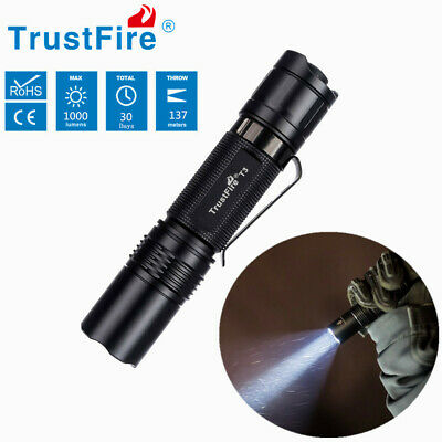 Powerful 30000LM T6 LED Flashlight Tactical Torch Outdoor Camping Lamp 3 Modes