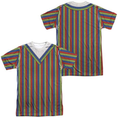 Sesame Street TV Show BERT COSTUME 2-Sided All Over Print Poly T-Shirt