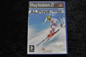 Alpine-Skiing-2005-Geen-Manual-Playstation-2-PS2