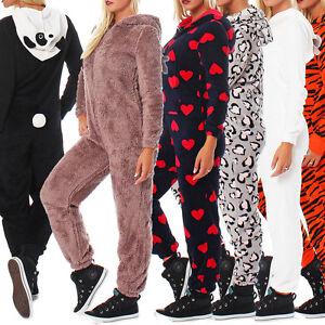 LBB-Damen-Jumpsuit-Einteiler-Overall-Tier-Anzug-Kostuem-Jogger