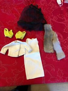 Vintage Barbie Clothes Bundle Lot Dress With Matching Jacket And More Ebay