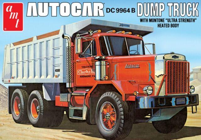Amt 1150 F S Autocar Dc9964b Dump Truck Model Kit For Sale Online Ebay