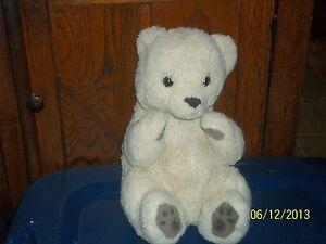 RUSS YOMIKO BEIGE TAN POLAR TEDDY BEAR PLUSH 7905