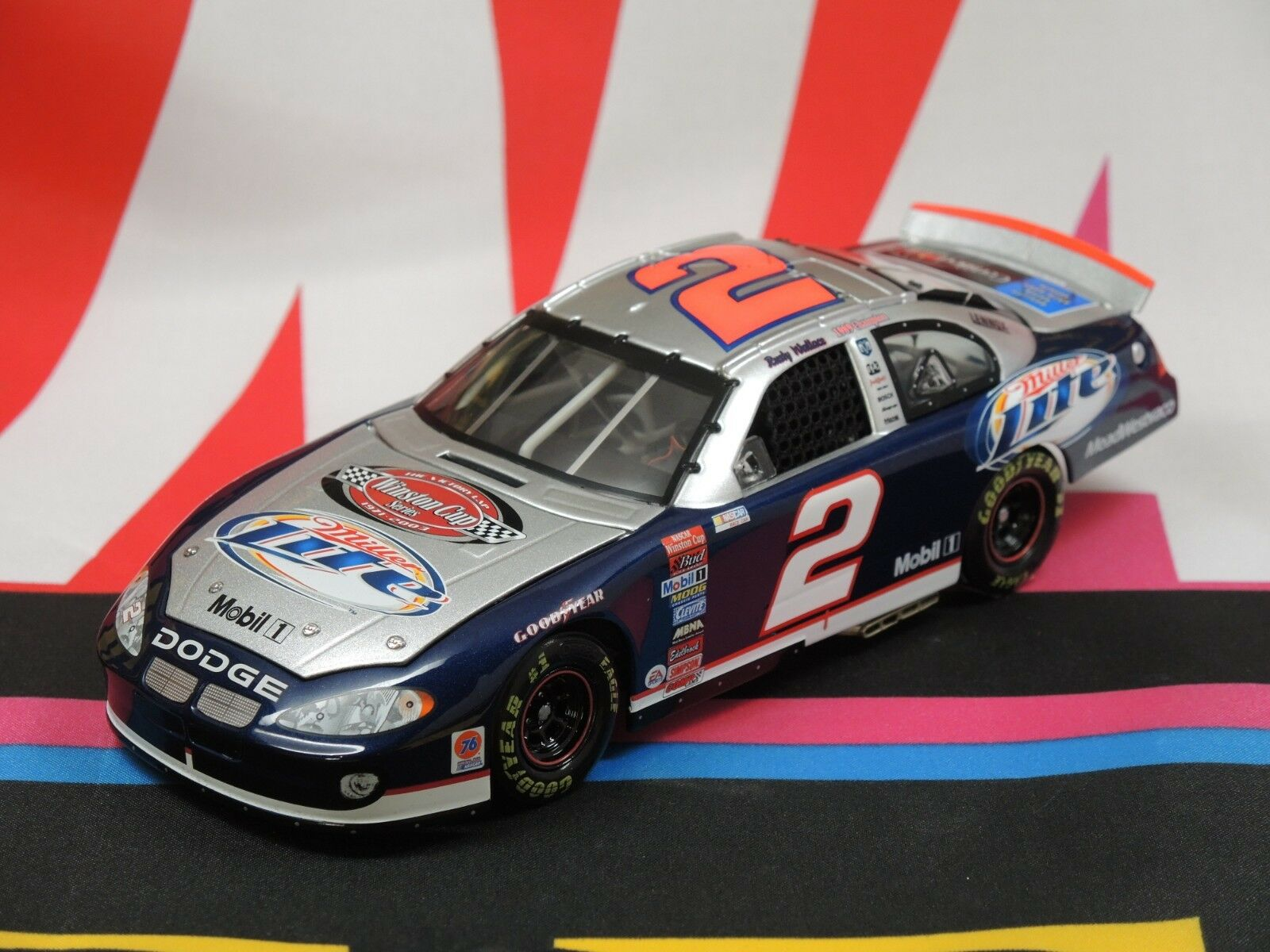 Rusty Wallace Miller Lite   The Victory Lap 2003 1 24 Elite