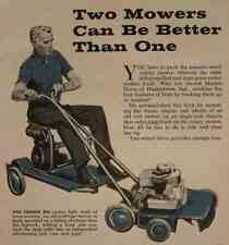 Convert Reel Mower into Riding Sulky How-To build PLANS