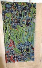 Vincent Van Gogh Irises Silk Scarf, Holland Design, Amsterdam...................