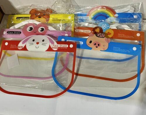 LOT DE 100 PIECES ENFANTS Sécurité Visière Protection Cover Guard Réutilisable Wholesale