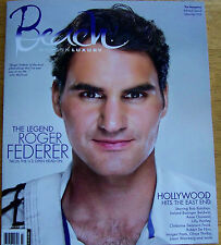 BEACH MODERN LUXURY MAG. LABOR DAY 2014. ROGER FEDERER ON THE COVER. (4321)(4).