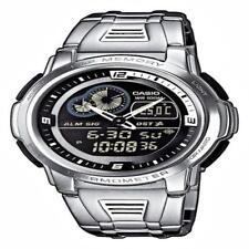 Casio Aqf-102Wd-1Bvef Mens Analog & Digital Quartz Multifunction Watch W/ Steel
