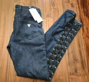 Guess 1981 Skinny High Jeans Women's 28 Waist 28 Inseam Retail $148 NWT