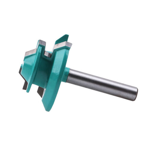 45 Degree Mitre Miter Lock Wood Clamp Joint Router Cutting Drill Bit Tools CF