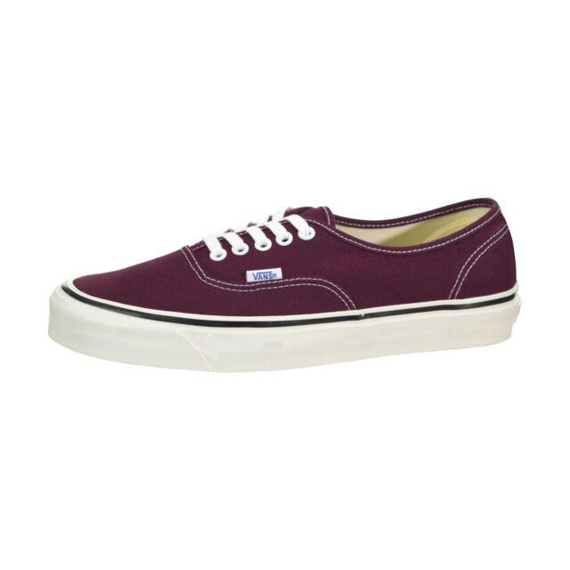 VANS Men s Shoes Anaheim Factory Authentic 44 DX OG Burgundy Size ... 233b2f1f532a
