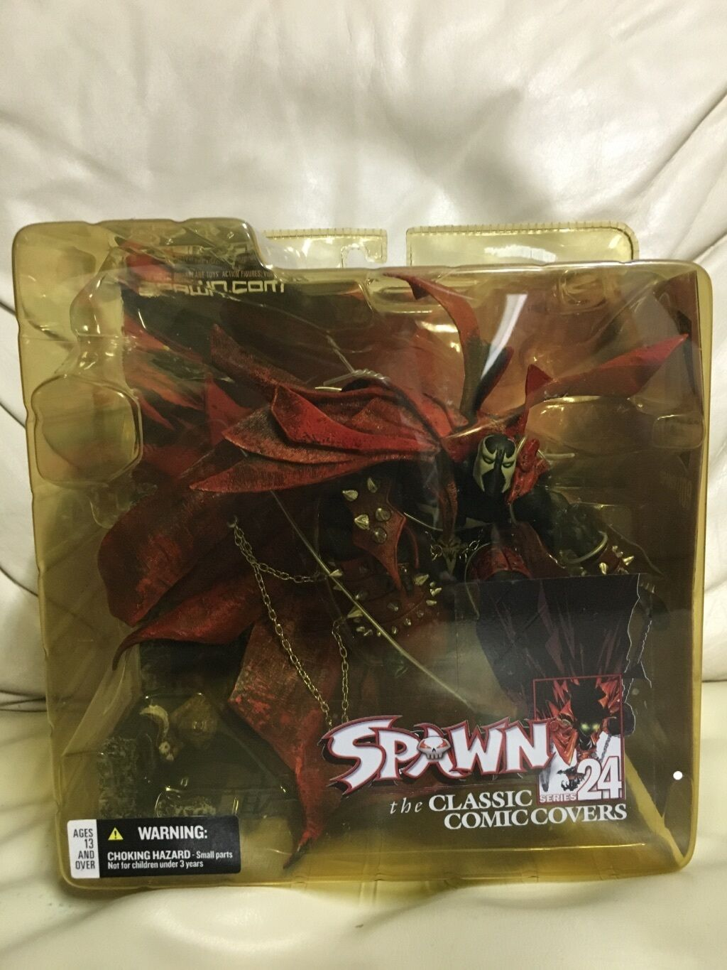 Spawn series 24 the classic comic covers