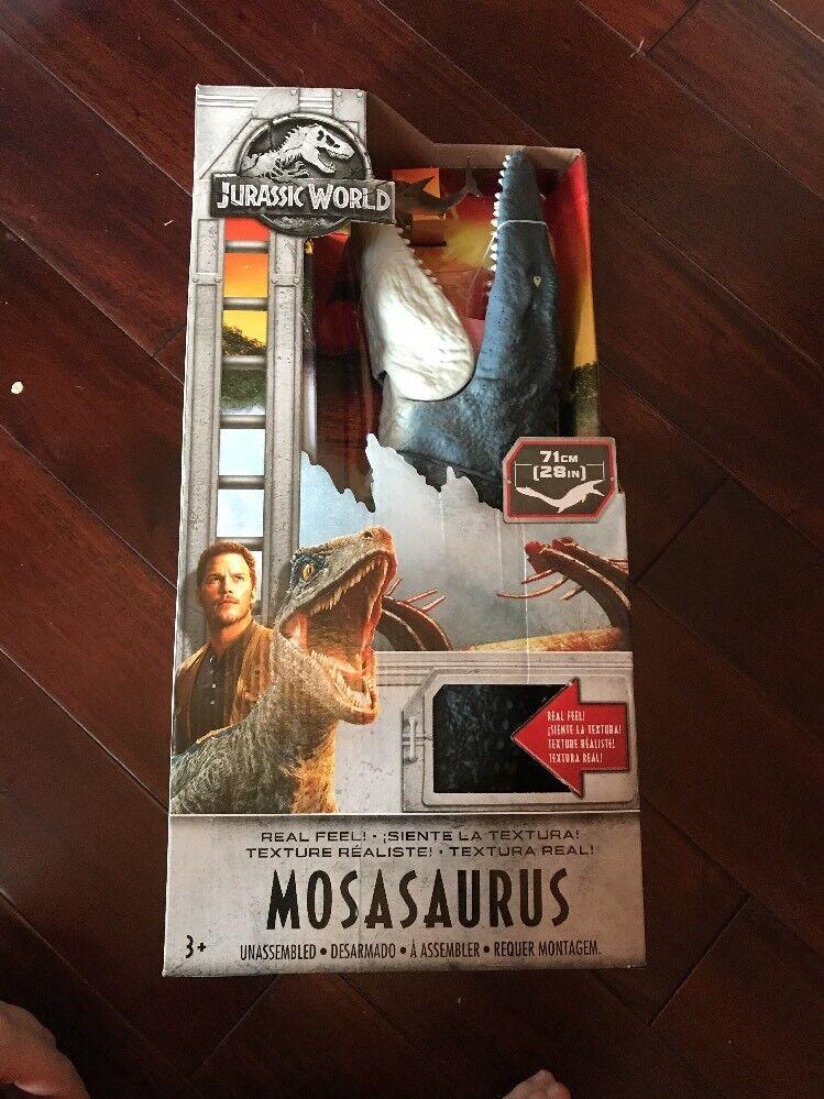BRAND NEW 28  Jurassic Park World Mosasaurus Action Figure autentico HTF XMAS
