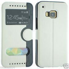 FOR HTC M9 HTC ONE HIMA PU LEATHER WALLET STYLE FLIP POUCH SKIN COVER CASE NICE