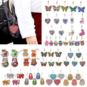 4-5-6pcs-DIY-Diamond-Painting-Keyring-Cross-Special-shaped-Full-Drill-Keychain