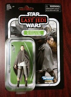 Star Wars The Vintage Collection Rey Island Journey Jedi Training 3.75 Exclusive