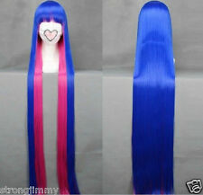 "40"" 100cm Panty and Stocking with Garterbelt-Stocking Anime Cosplay wig COS H-29"
