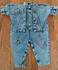 Vintage Baby Girl One Piece by Vitamins