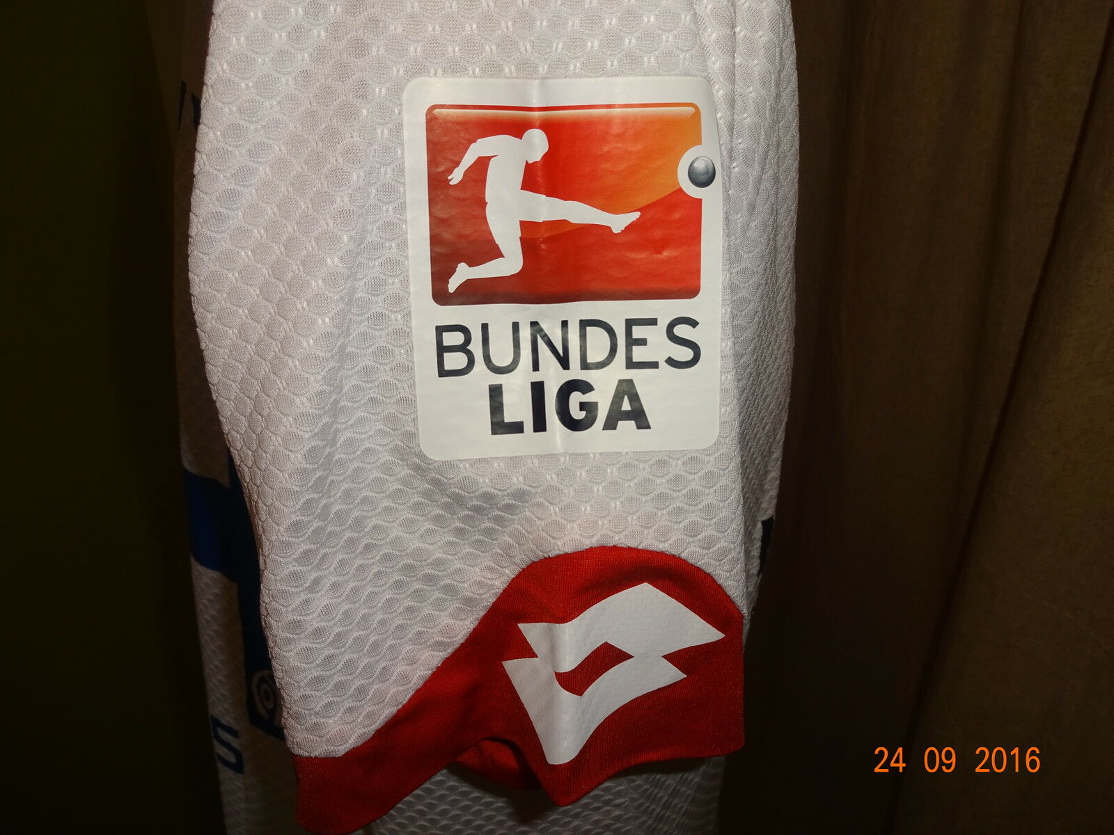 FSV Mainz 05 Lotto Spieler Matchworn Trikot Trikot Trikot 15 16  KÖMMERLING  + Nr.24 Park Gr.L 0e5ba4